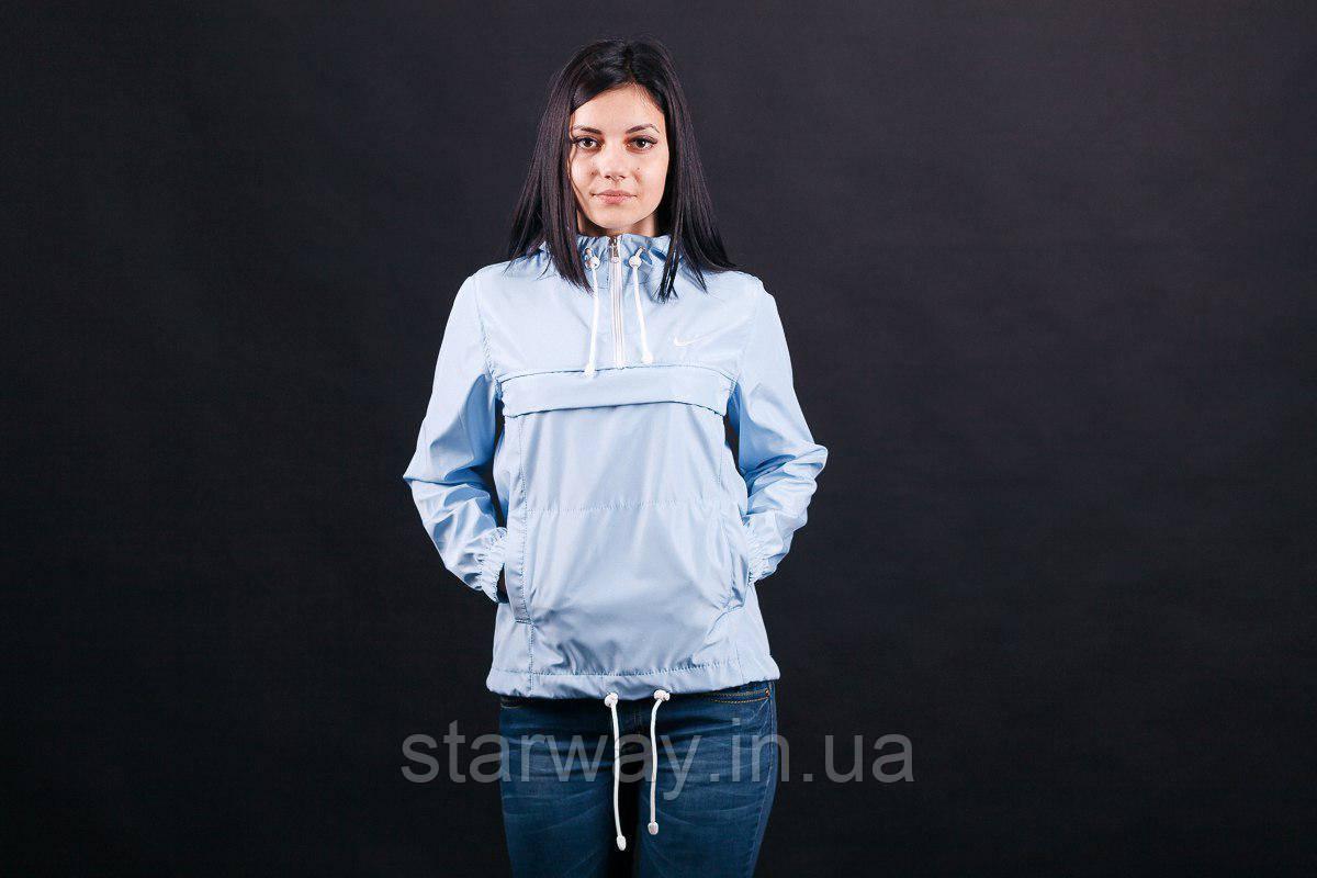 Анорак женский President антикапелька | Nike logo вышивка