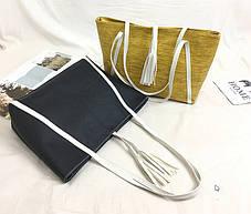 Большая вместительная сумка для модных девушек, фото 3