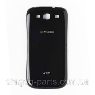 Задня кришка Samsung I9300i Galaxy S3 Neo Onyx Black , оригінал GH98-31640E, фото 2