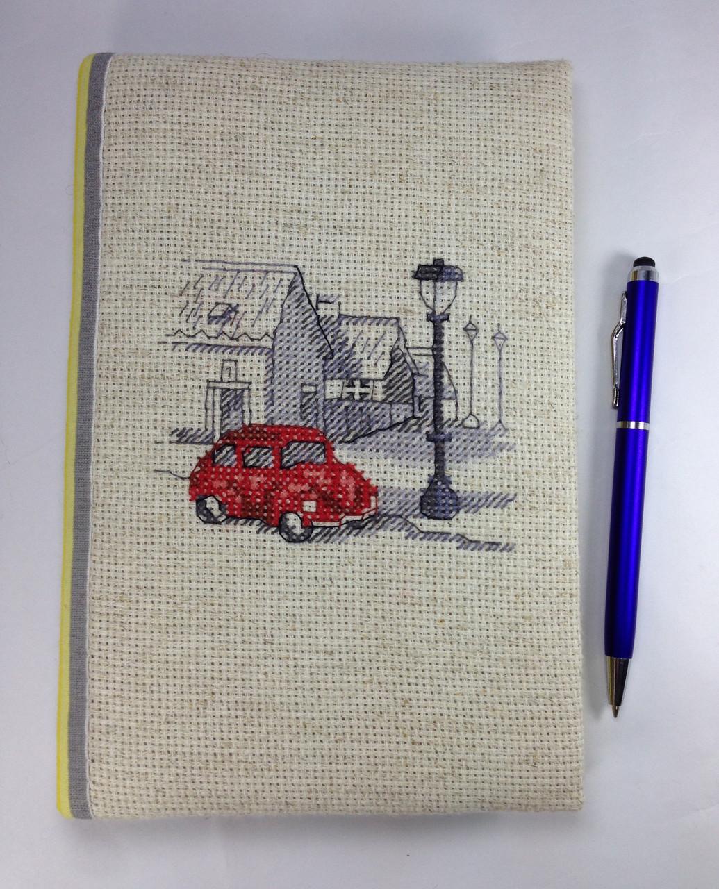 Блокнот ручної роботи красива обкладинка з вишивкою