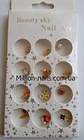 Новинка!Набор объемного декора для ногтей