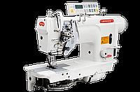двухигольная промышленная швейная машина с автоматикой BRUCE 8750D-405