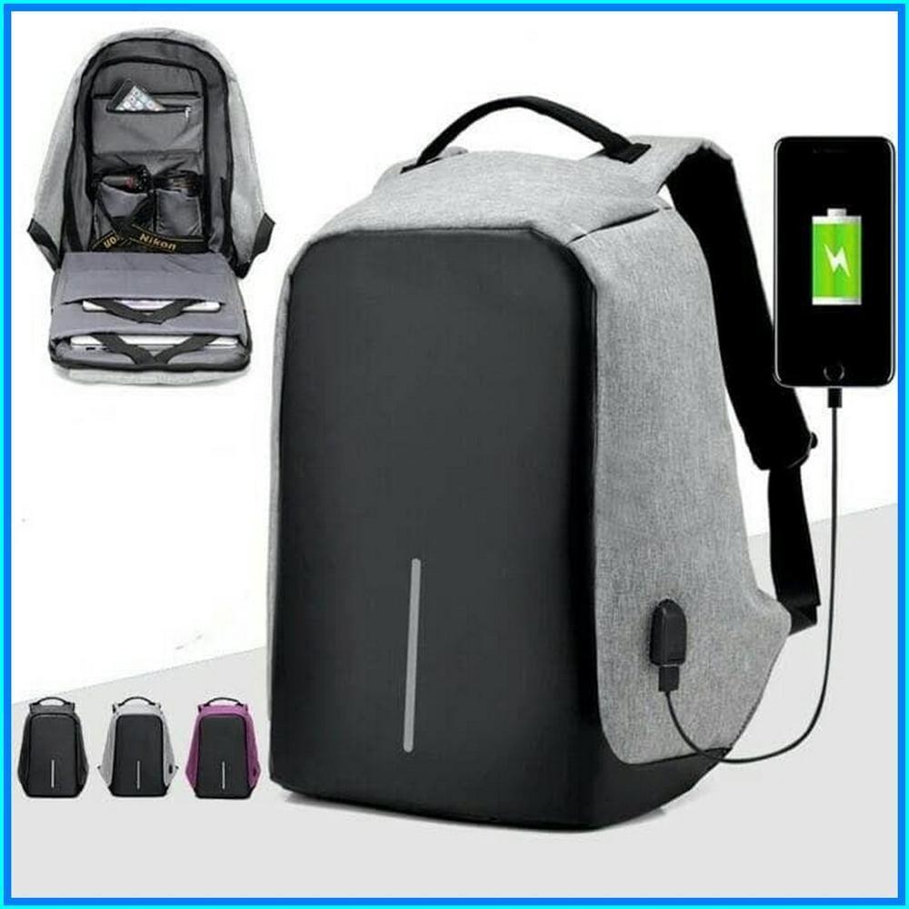 1ac33ae74e12 Рюкзак городской Bobby Портфель Антивор с USB зарядкой  продажа ...