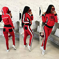 """Женский трикотажный спортивный костюм """"Стайл тигр"""". Ткань: трикотаж. Размер: см,мл."""