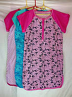 Ночная сорочка женская трикотаж Украина 96-100р с пуговицами НС-342