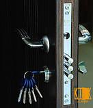 """Входные двери в квартиру Классик серии """"Премиум"""" (орех тёмный/коньячный), фото 2"""