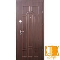 """Входные двери в квартиру Классик серии """"Премиум"""" (орех тёмный/коньячный)"""
