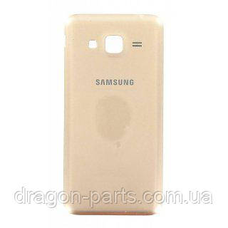Задняя крышка Samsung J320 Galaxy J3 золотая/gold , оригинал GH98-38690B, фото 2