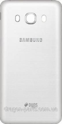 Задняя крышка Samsung J510 Galaxy J5 2016 белая/white , оригинал GH98-39839C, фото 2