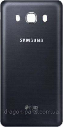 Задня кришка Samsung J510 Galaxy J5 2016 чорна/black , оригінал GH98-39839B