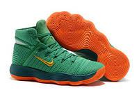 Баскетбольные кроссовки  Nike HyperDunk 2017 Flyknit  Green/Orange