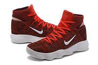 Баскетбольные кроссовки  Nike HyperDunk 2017 Flyknit  Red/White