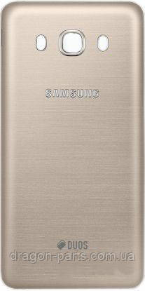 Задняя крышка Samsung J510 Galaxy J5 2016 золотая/gold , оригинал GH98-39839A, фото 2