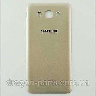 Задняя крышка Samsung J710 Galaxy J7 золотая/gold , оригинал GH98-39699A