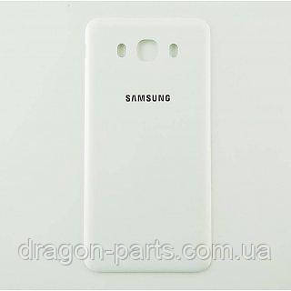 Задняя крышка Samsung J710 Galaxy J7 белая/white , оригинал GH98-39699C
