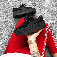 Кроссовки Puma Creeper Platform leather by Rihanna replica AAA b9b256387aefc