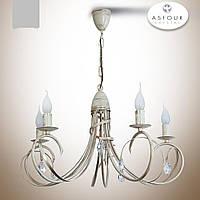 Люстра 5-ти ламповая в классическом стиле с хрусталем  18505
