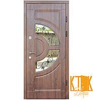 """Входные двери на улицу Греция серии """"Премиум"""" (дуб тёмный)"""