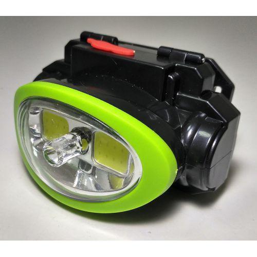 🔥✅ Налобный тактический фонарик с лазером BL-0520 COB