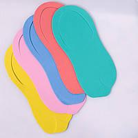 "Тапочки ""COLORFUL ORTO"", 3 мм (разноцветные микс), 10 пар/уп"