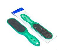 Терка для стоп пластиковая (зеленая) 100/180