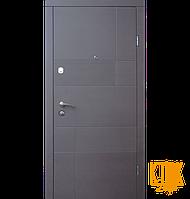 """Входные двери в квартиру Калифорния серии """"Стандарт"""" (венге серый горизонт)"""