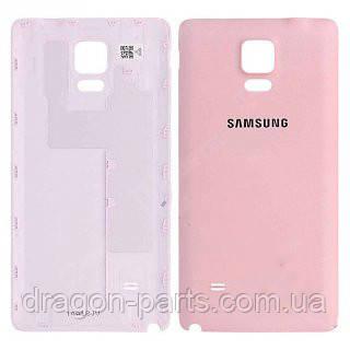 Задняя крышка Samsung N910 Galaxy Note 4 розовая/pink , оригинал GH98-34209D