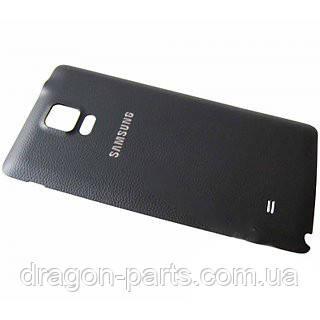 Задняя крышка Samsung N910 Galaxy Note 4 черная/black , оригинал GH98-34209B, фото 2