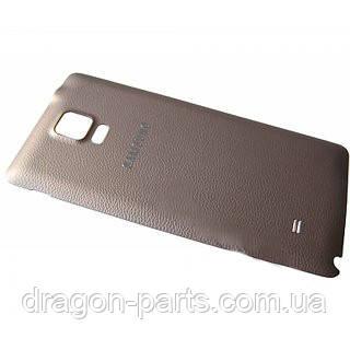 Задняя крышка Samsung N910 Galaxy Note 4 золотая/gold , оригинал GH98-34209C