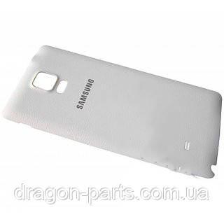 Задняя крышка Samsung N910 Galaxy Note 4 белая/white , оригинал GH98-34209A, фото 2