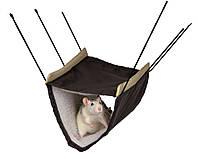 Гамак для хорька и крысы 2 этажа 22*15*30см, Trixie™ Коричневый