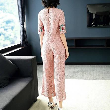 Женский костюм гипюр, фото 2