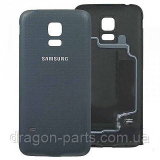 Задняя крышка Samsung G800 Galaxy S5 mini черная/black , оригинал GH98-32937A, фото 2