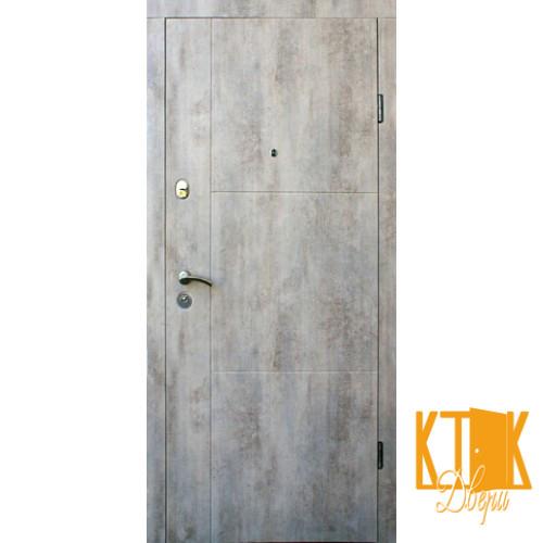 """Входные двери в квартиру Эста серии """"Стандарт"""" (бетон светлый)"""
