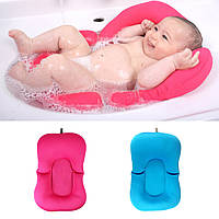 Младенческая новорожденная ванна для младенцев Подушка для подушек Lounger Air Cushion Floating Soft Поддержка ванны для сидения