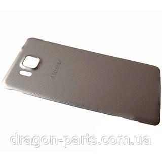 Задняя крышка Samsung G850 Galaxy Alpa золотая/gold , оригинал GH98-33688B