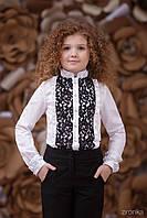 Блузка школьная для девочки 3641-2