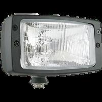 Противотуманка фара головного света Wesem Zetor H4 RE.25677 184 x 102 mm ближний /дальний 1 штука