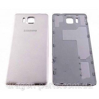 Задняя крышка Samsung G850 Galaxy Alpa Chrome Silver , оригинал GH98-33688E, фото 2