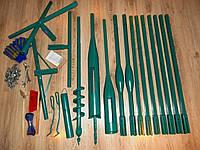 Ручной бур 120 мм для вертикального бурения до 10 метров и забора проб грунта