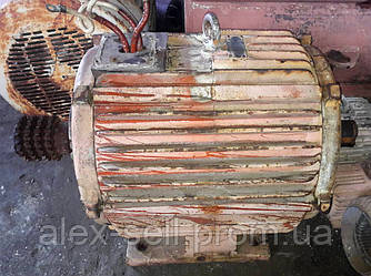 Электродвигатель електродвигун 4А 250 45 кВт 1000 об/мин.