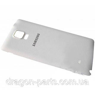 Задняя крышка Samsung N910C GALAXY Note 4 белая/white , оригинал GH98-34209A, фото 2
