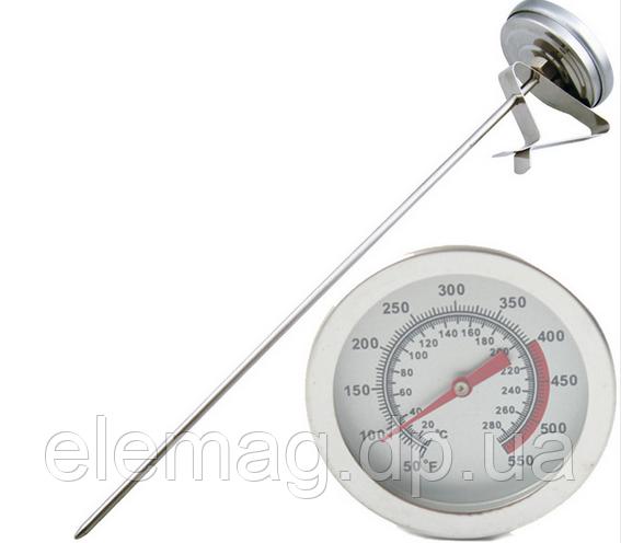 Термометр з прищіпкою +280 °С Дуже довгий щуп - 400 мм