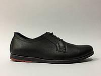 Туфли мужские классика-спорт FR 6367 черные