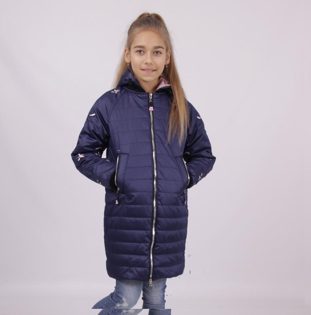 Детская демисезонная куртка для девочки 1808, 140-164