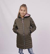 Детская демисезонная куртка для девочки 1808, 140-164, фото 2