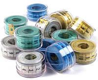 Сантиметровая лента (150см) в пластиковой банке, для шитья, фото 1