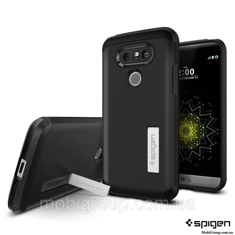 Чехол Spigen для LG G5 Tough Armor, Black