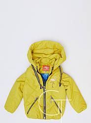 Детская демисезонная куртка-трансформер  для девочки 31099-6, 104-128