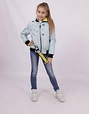 Детская демисезонная куртка для девочки 1806, размеры 134-158, фото 3